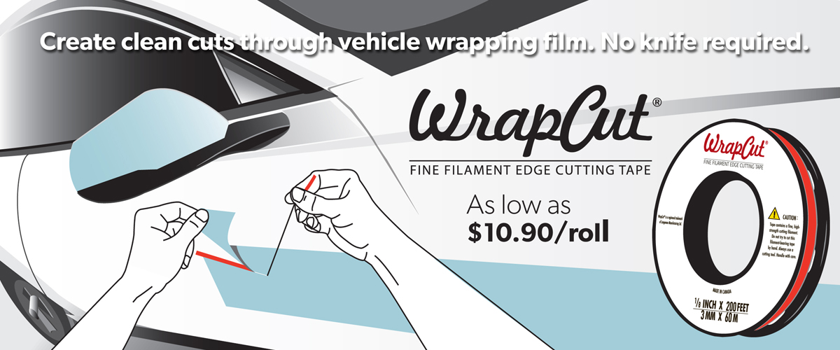Create clean cuts through vehicle wrapping film