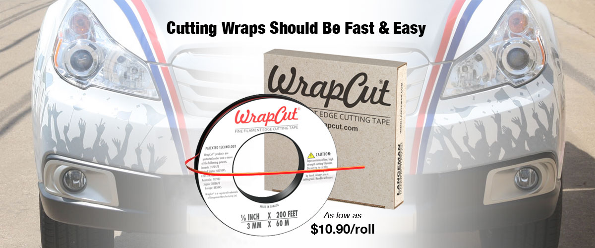 Cutting Wraps Should be Easy