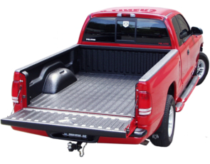 Red Truck - Black Bedliner