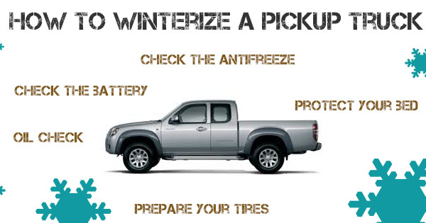 Winterizing a Pickup Truck