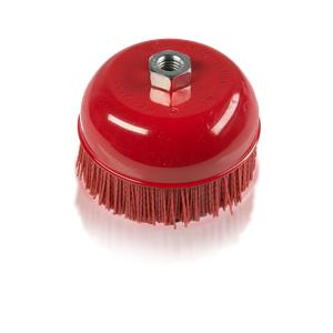 Abrasive Cup Brush 6""