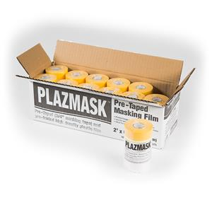 PlazMask Pre-Taped Masking Film, 2